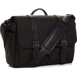 ONA The Nylon Brixton Camera and Laptop Messenger Bag (Black)