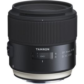 Tamron SP 35mm F/1.8 Di VC USD Lens w/hood for Canon