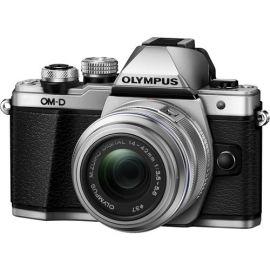 Olympus OM-D E-M10 Mark II Mirrorless Micro Four Thirds Digital Camera with 14-42mm II R Lens (Silver)