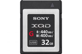 Sony G-Series QD-G32E - flash memory card - 32 GB - XQD