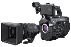 Sony PXW-FS7M2 4K XDCAM Super 35 Camcorder Kit with 18-110mm Zoom Lens