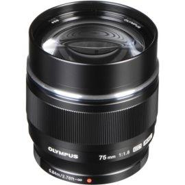 Olympus M.Zuiko 75mm f1.8 Lens - Black