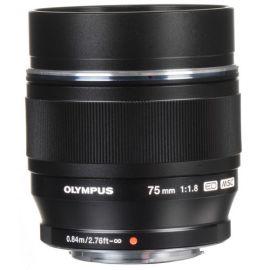 Olympus M.Zuiko Digital ED 75mm f/1.8 Lens (Black) (Open Box)