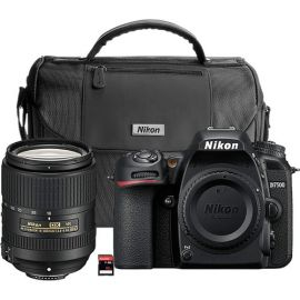 Nikon D7500 DX-format Digital SLR w/ 18-300mm VR Lens (Black) Camera - 13532