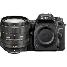 Nikon D7500 DX-format Digital SLR w/ 16-80mm VR Lens (Black) Camera - 13535