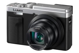 Panasonic Lumix DCZS80 Digital Camera (Silver)