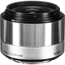 Sigma 19mm F2.8 EX DN ART Lens (Silver) for Panasonic Micro 4/3 Mount