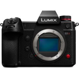 Panasonic Lumix DC-S1H Mirrorless Digital Camera (Body Only) - Open Box