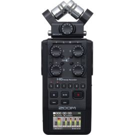 Zoom H6 Handy Recorder All Black