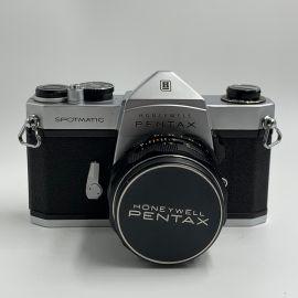Honeywell Pentax Spotmatic SLR Camera with Super Multi Takumar 50mm f/1.4 Lens - Preowned