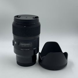 Sigma 35mm f/1.4 DG HSM Art Lens for Sony E - Preowned