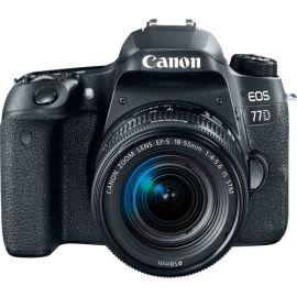 Canon EOS 77D DSLR Camera with 18-55mm Lens Kit