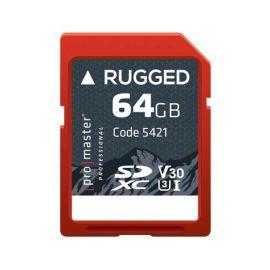 Promaster SDXC 64GB Rugged UHS-I