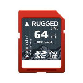 Promaster Rugged SDXC Card 5456 - 64GB UHS-II V90