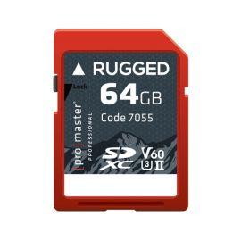 Promaster SDXC 64GB Rugged UHS-II
