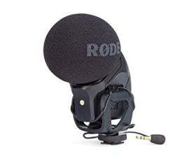 RODE XY stereo condenser microphone with integrated shockmount