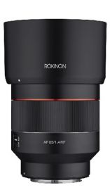 Rokinon AF 85mm F1.4 for Canon RF