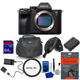 Sony Alpha a7R IV Mirrorless Digital Camera (Body Only) with Accessories Kit