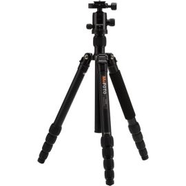 MeFOTO Globetrotter Travel Tripod Kit Black