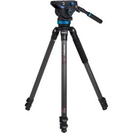 Benro C373F Series 3 CF Video Tripod & S8 Head - disabled