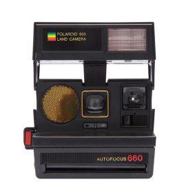 Impossible Polaroid 600 Sun 660 AF Camera
