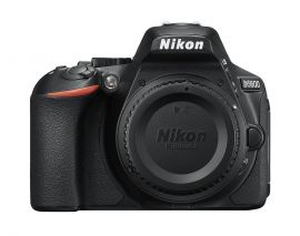 Nikon D5600 DX-format Digital SLR Body (Black) - 1575
