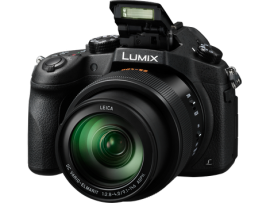 Panasonic Lumix DMC-FZ1000 4K QFHD/HD 16X Long Zoom Digital Camera (Black)