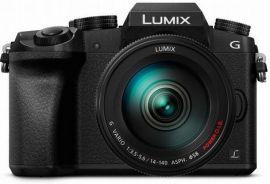 Panasonic LUMIX G7 16.0 MP DSLM Camera with 14-140MM Lens, Tilt-Live Viewfinder & 4K Video (Black)