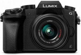Panasonic LUMIX G7 16.0 MP DSLM Camera with LUMIX G VARIO 14-42mm II Lens - Black