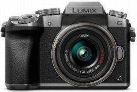 Panasonic LUMIX G7 16.0 MP DSLM Camera with LUMIX G VARIO 14-42mm II Lens - Silver