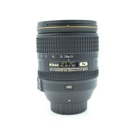 Nikon AF-S NIKKOR 24-120mm f/4G ED VR Lens - Pre-Owned