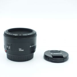 Canon EF 50mm f/1.8 II Lens - Preowned