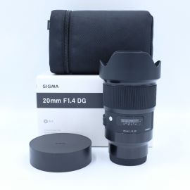 Sigma 20mm f/1.4 DG HSM Art Lens for Sony E - Preowned