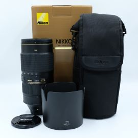Nikon AF-S NIKKOR 80-400mm f/4.5-5.6G ED VR Lens Preowned