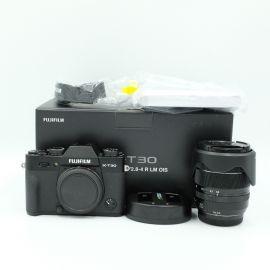 FUJIFILM X-T30 Mirrorless Digital Camera with 18-55mm Lens (Black) - Preowned