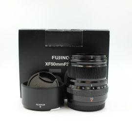 FUJIFILM XF 50mm f/2 R WR Lens (Black) - Preowned