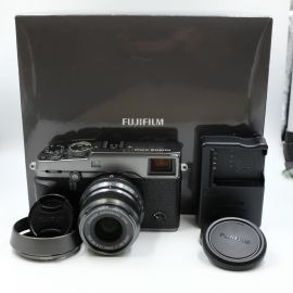 Fujifilm X-PRO2 Mirrorless Camera with XF 23mm f/2 R WR Lens, Graphite - Preowned