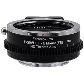 Vizelex Fusion ND Throttle Lens Mount Adapter from Fotodiox Pro - Canon EOS EF Lens to Sony NEX E-Mount