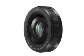 Panasonic LUMIX G 20mm f/1.7 II ASPH. Lens - Black