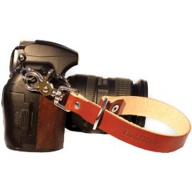 HoldFast Gear Camera Leash (English Bridle, Chestnut)