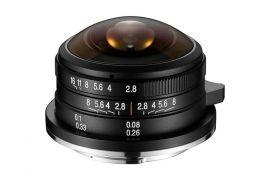 Laowa 4mm f/2.8 Fisheye Lens for Micro Four Thirds Cameras
