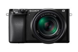 Sony Alpha a6100 APS-C Mirrorless Camera with 16-50mm and 55-210mm Lenses