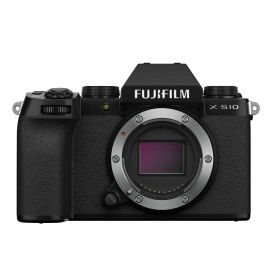 FUJIFILM X-S10 Mirrorless Camera Body Black - Open Box