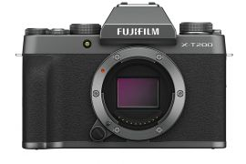 FUJIFILM X-T200 Mirrorless Digital Camera (Body Only, Dark Silver)