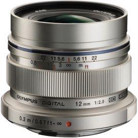 Olympus M.Zuiko 12mm f2.0 Lens - Silver