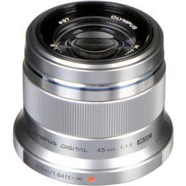 Olympus M.Zuiko 45mm f1.8 Lens - Silver