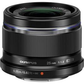 Olympus M.Zuiko 25mm f1.8 Lens - Black