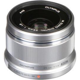 Olympus M.Zuiko 25mm f1.8 Lens - Silver