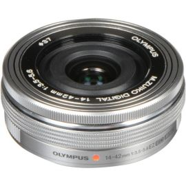 Olympus M.Zuiko ED 14-42mm f3.5-5.6 EZ Lens - Silver