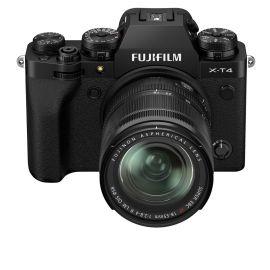 Fujifilm X-T4 Mirrorless Digital Camera with XF 18-55mm, Black